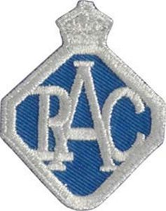 RAC Badge iron-on / sew-on cloth patch   (ff)